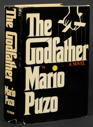 The Godfather by Mario Puzo front cover