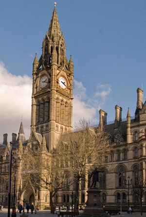 Manchester Town Hall by Mark Andrew