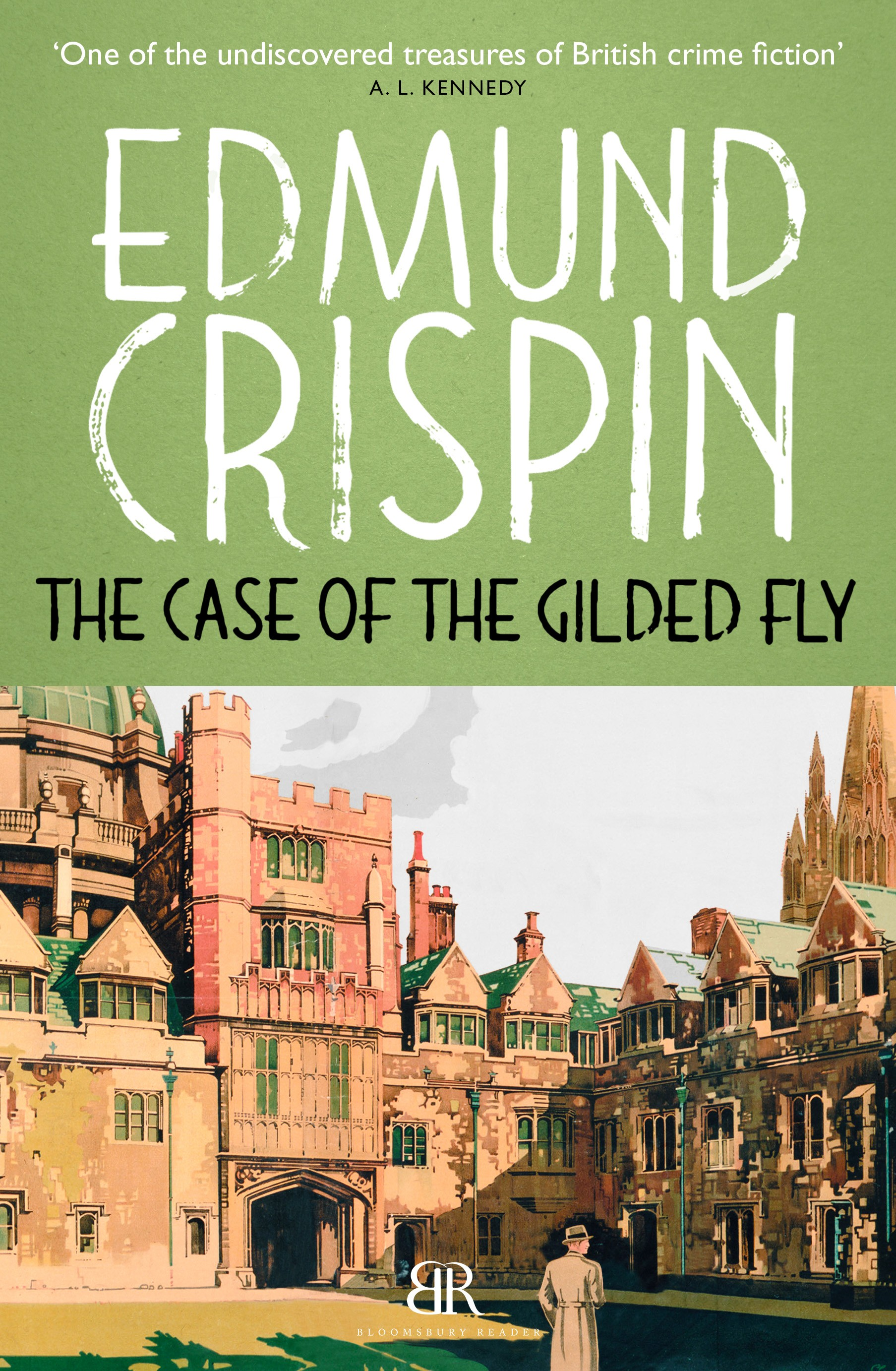 The Case of the Gilded Fly by Edmund Crispin (US only) This book was Edmund  Crispin's debut novel and it also introduced Gervase Fen to mystery lovers.