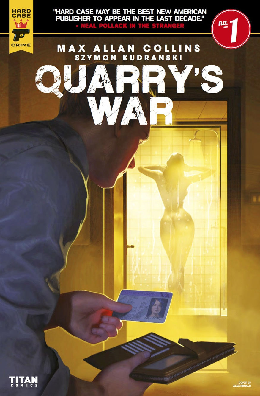 Quarry's War issue 1 » CRIME FICTION LOVER