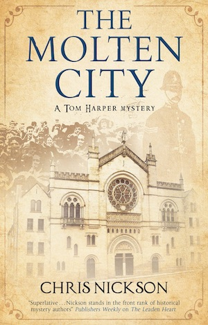 The Molten City by Chris Nickson, Leeds historical crime fiction