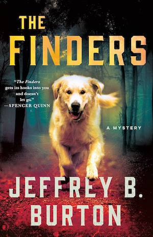 The Finders by Jeffrey B Burton front cover