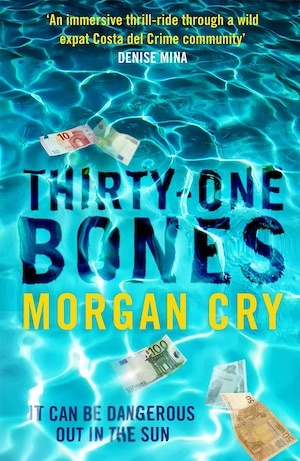 Thirty-one Bones by Morgan Cry front cover