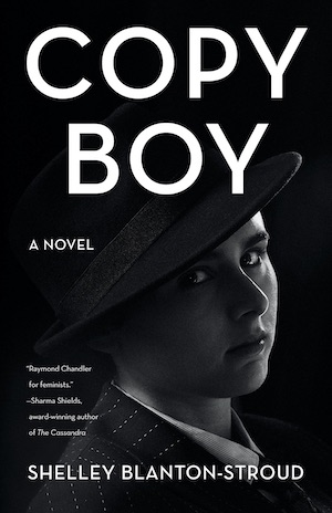 Copy Boy by Shelly Blanton-Stroud front cover
