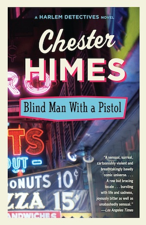 Blind Man With a Pistol by Chester Himes front cover
