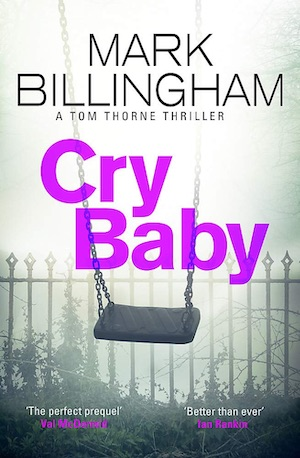 Cry Baby by Mark Billingham front cover
