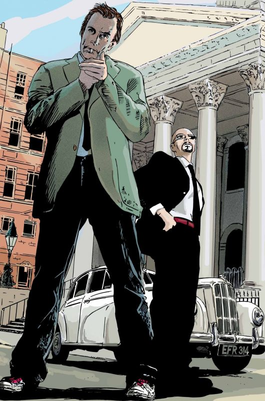 Harker crime graphic novel