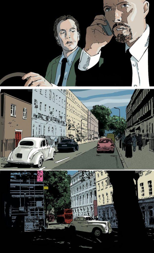 Harker crime graphic novel