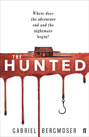 The Hunted by Gabriel Bergmoser front cover Australian crime fiction
