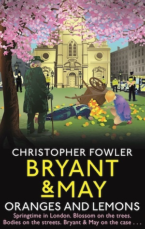 Oranges and Lemons by Christopher Fowler front cover