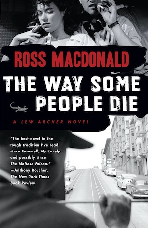 The Way Some People Die by Ross Macdonald front cover