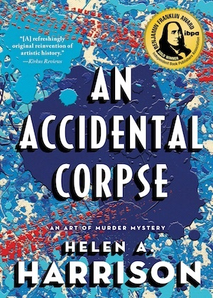 An Accidental Corpse by Helen A Harrison front cover