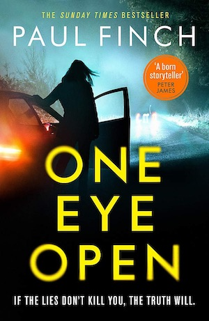 One Eye Open by Paul Finch front cover