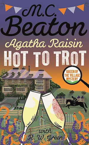 Agatha Raisin Hot to Trot by MC Beaton front cover