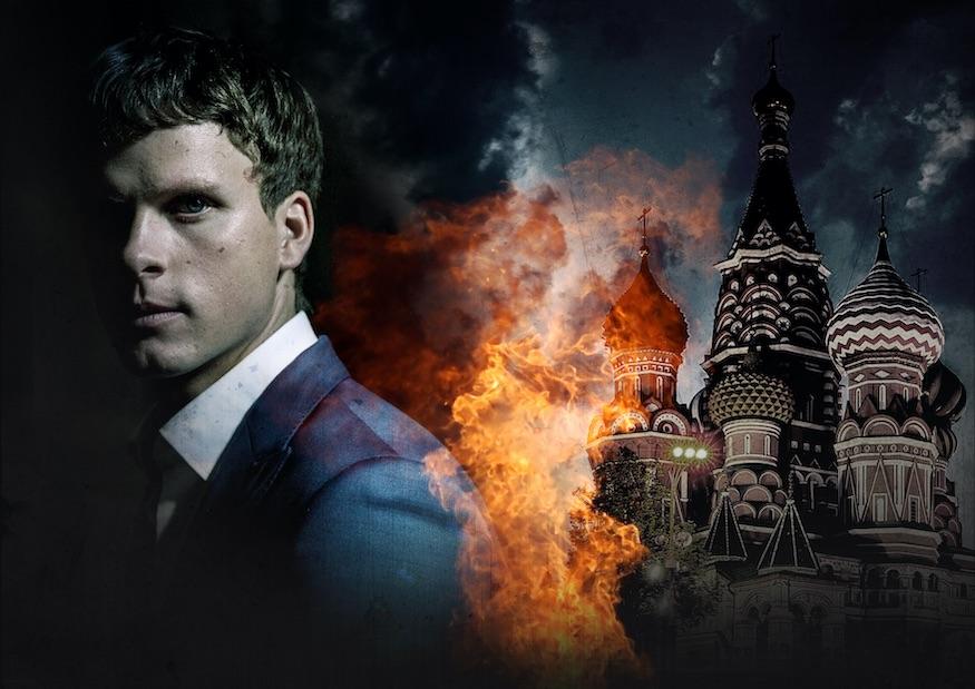 Moscow Noir crime show Adam Palsson
