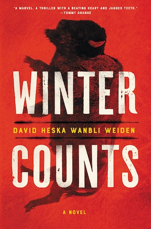 Winter Counts by David Heska Wanbli Weiden front cover