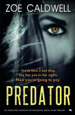 Predator Zoe Caldwell crime fiction novel