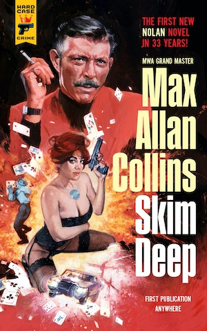 Skim Deep pulp crime by Max Allan Collins