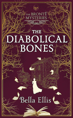 The Diabolical Bones by Bella Ellis front cover