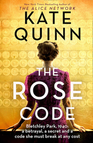 The Rose Code by Kate Quinn front cover