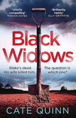 Black Widows by Cate Quinn front cover