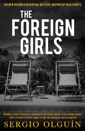 The Foreign Girls by Sergio Olguin front cover