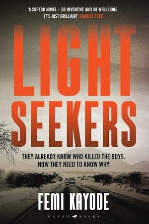 Light Seekers by Femi Kayode front cover