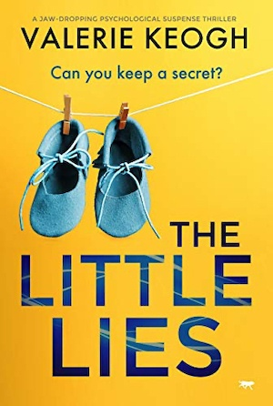 The Little Lies by Valerie Keogh front cover
