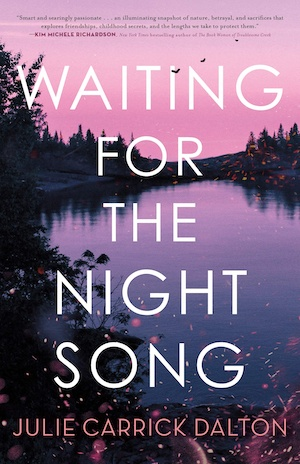Waiting for the Night Song by Julie Carrick Dalton front cover