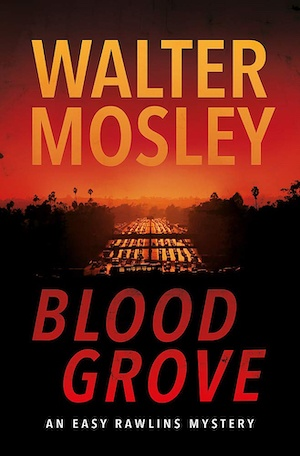Blood Grove by Walter Mosley front cover