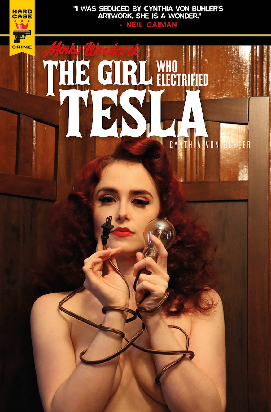 Minky Woodcock: The Girl Who Electrified Tesla photographic cover