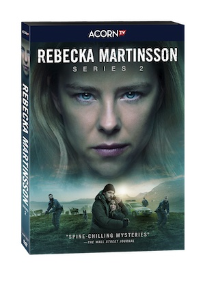 Rebecka Martinsson DVD case series two