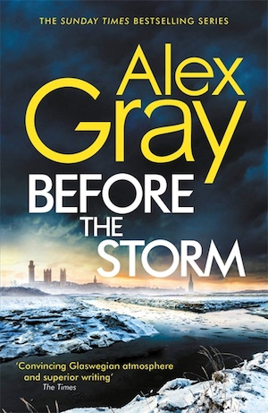 Before the Storm by Alex Gray front cover