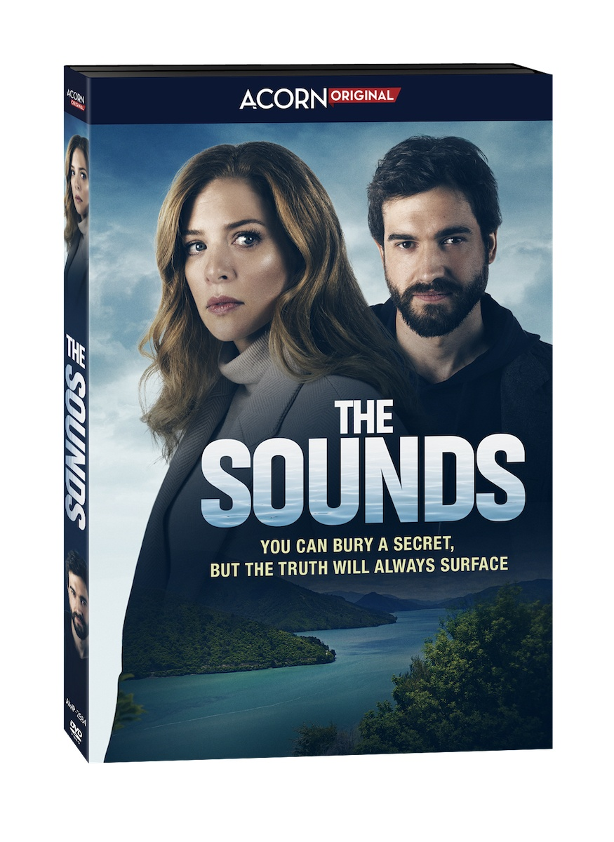 The Sounds New Zealand crime show DVD