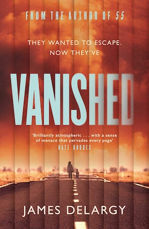 Vanished by James Delargy front cover