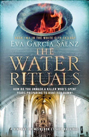 The Water Rituals by Eva Garcia Saenz front cover