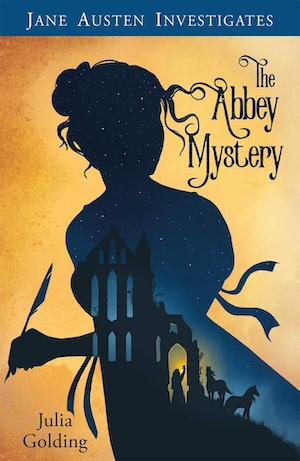 The Abbey Mystery by Julia Golding front cover