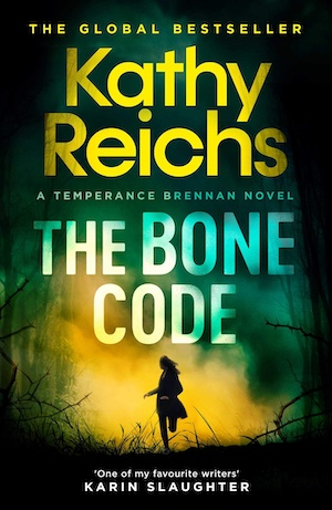The Bone Code by Kathy Reichs front cover