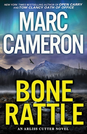 Bone Rattle by Marc Cameron front cover