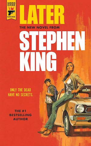 Later by Stephen King front cover