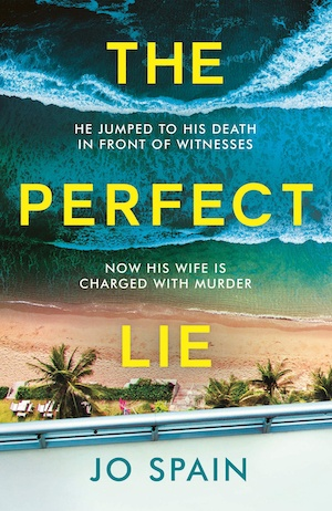 The Perfect Lie by Jo Spain front cover