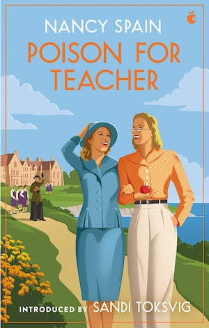 Poison for Teacher by Nancy Spain front cover