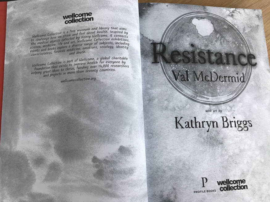 Resistance by Val McDermid and Kathryn Briggs graphic novel