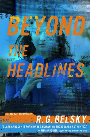 Beyond the Headlines by RG Belsky front cover