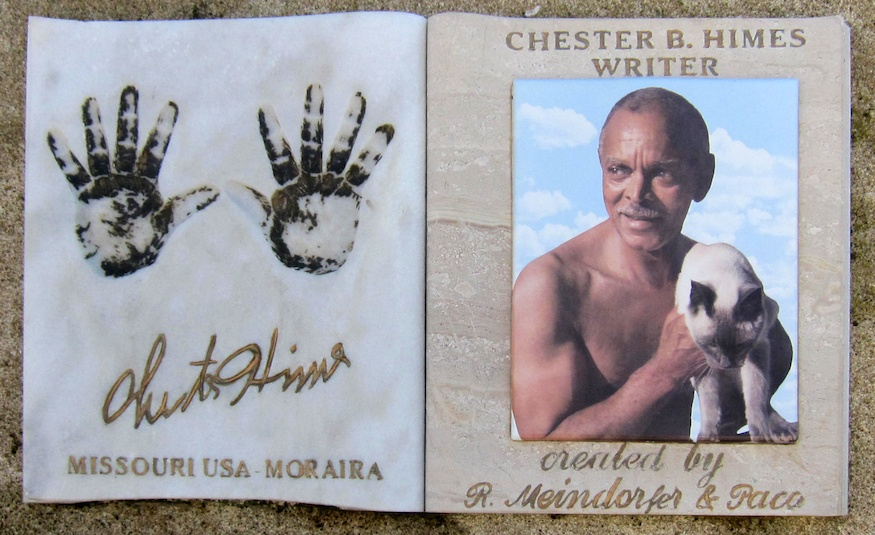 Chester Himes memorial