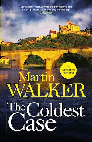 The Coldest Case by Martin Walker front cover