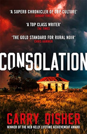 Consolation by Garry Disher front cover