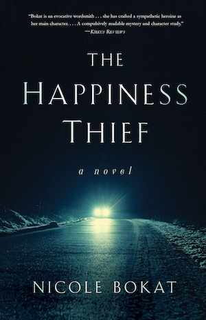 The Happiness Thief by Nicole Bokat front cover