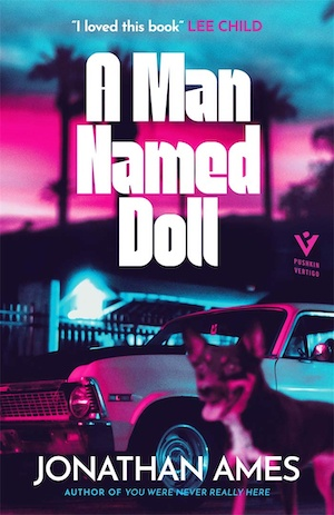 A Man Named Doll by Jonathan Ames front cover