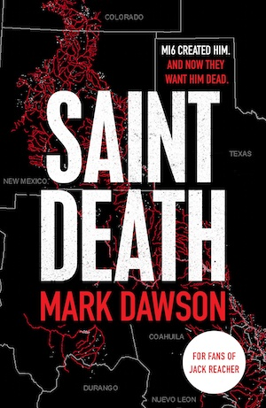 Saint Death by Mark Dawson front cover